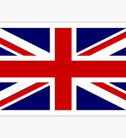 Union Jack, British Flag, UK, United Kingdom, Pure & simple, 1:2 Sticker