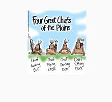 Four Great Chiefs of the Plains Unisex T-Shirt