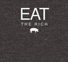 eat the rich (white) Unisex T-Shirt