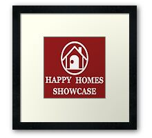 Happy Homes Showcase Logo Framed Print