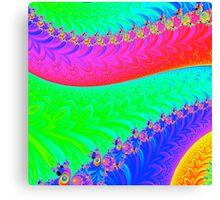 Psychedelic Dragonback 2 Canvas Print