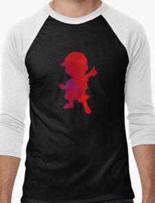 Ness - Fractal Men's Baseball ¾ T-Shirt