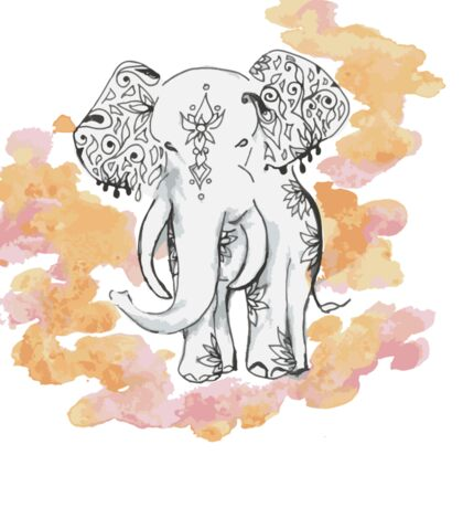 Lucky Elephant Sticker