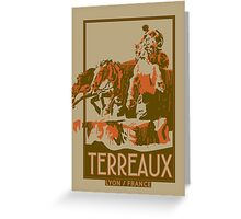Terreaux Square - Lyon - France Greeting Card