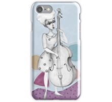I bass play a song for you iPhone Case/Skin