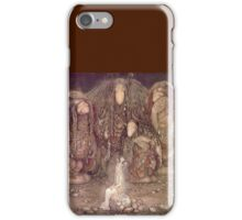TROLL, Fairy Tales, Swedish, Sweden, John Bauer, Trolls, and a Princess,  iPhone Case/Skin