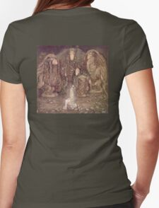 TROLL, Fairy Tales, Swedish, Sweden, John Bauer, Trolls, and a Princess,  Womens Fitted T-Shirt