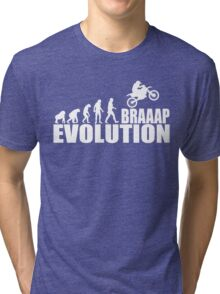 funny braaap evolution Tri-blend T-Shirt