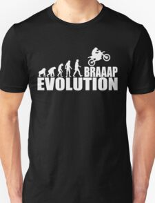 funny braaap evolution Unisex T-Shirt