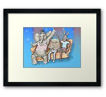 The Boring Party Framed Print