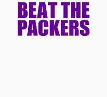 Minnesota Vikings - Beat the Packers - Purple Text Unisex T-Shirt