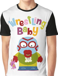 Wrestling Baby Graphic T-Shirt