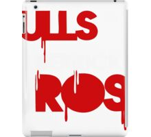rose chicago bulls iPad Case/Skin