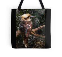 Kingfisher Blue kookaburra Tote Bag