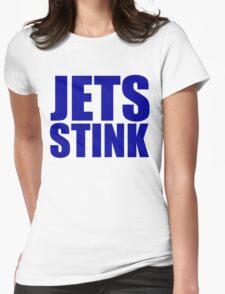 New England Patriots - JETS STINK Womens Fitted T-Shirt