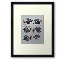 How Not to Train Your Dragon Framed Print