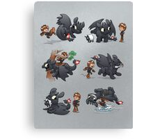 How Not to Train Your Dragon Canvas Print