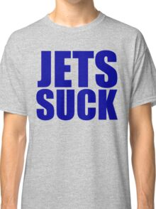 New England Patriots - JETS SUCK - Blue text Classic T-Shirt
