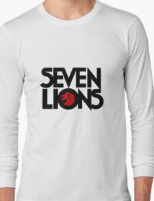 se7 Lion Long Sleeve T-Shirt