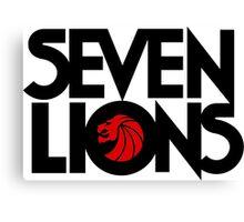 se7 Lion Canvas Print