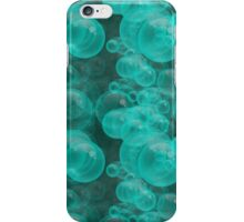Small Aqua Water Air Bubbles iPhone Case/Skin