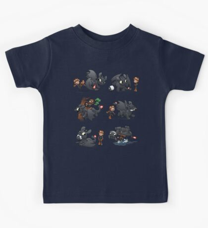 How Not to Train Your Dragon Kids Tee