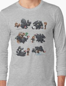 How Not to Train Your Dragon Long Sleeve T-Shirt