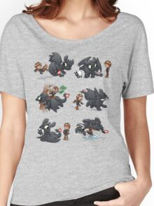 How Not to Train Your Dragon Women's Relaxed Fit T-Shirt