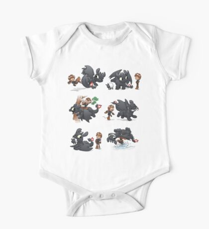 How Not to Train Your Dragon One Piece - Short Sleeve