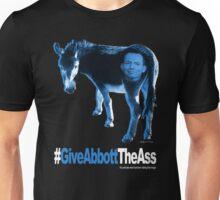 Give Abbott The Ass w/head - T-Shirt - Blue Unisex T-Shirt