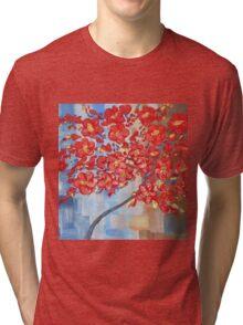the red tree Tri-blend T-Shirt