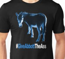 Give Abbott The Ass - T-Shirt - Blue Unisex T-Shirt