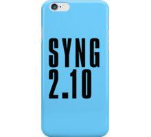 SYNG - Black iPhone Case/Skin