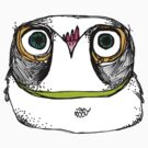 The owl that is skeptical by annieclayton