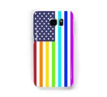 USA rainbow flag Samsung Galaxy Case/Skin