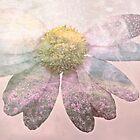 Double exposure flower power by DoraBirgis