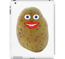 Funny Potato Character iPad Case/Skin