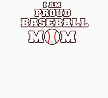 I am Proud Baseball Mom Women's Fitted Scoop T-Shirt