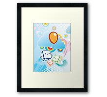 The Magic Thing Framed Print