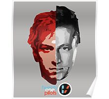 Two face of twenty one pilots Poster