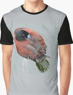 Blue Billed Duck Graphic T-Shirt