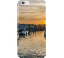 Sunset in Fairport iPhone Case/Skin