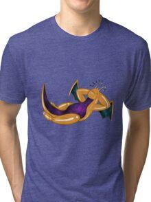 Sleeping Galaxy Dragonite Tri-blend T-Shirt