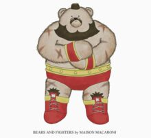 BEARS and FIGHTERS - Zangief by Bears& Fighters