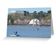 The Martin Luther King jr Memorial - Plate No.#I Greeting Card