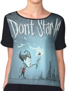 Don't Starve Chiffon Top