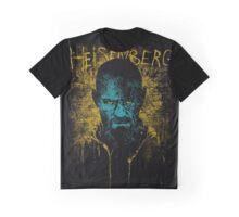 Heisenberg Graffiti Graphic T-Shirt