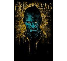 Heisenberg Graffiti Photographic Print