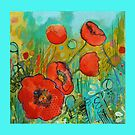 Fire Red Poppy by Maria Pace-Wynters