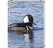 Hooded Merganser Duck iPad Case/Skin